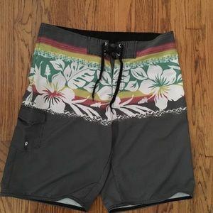 Burnside board shorts size 34